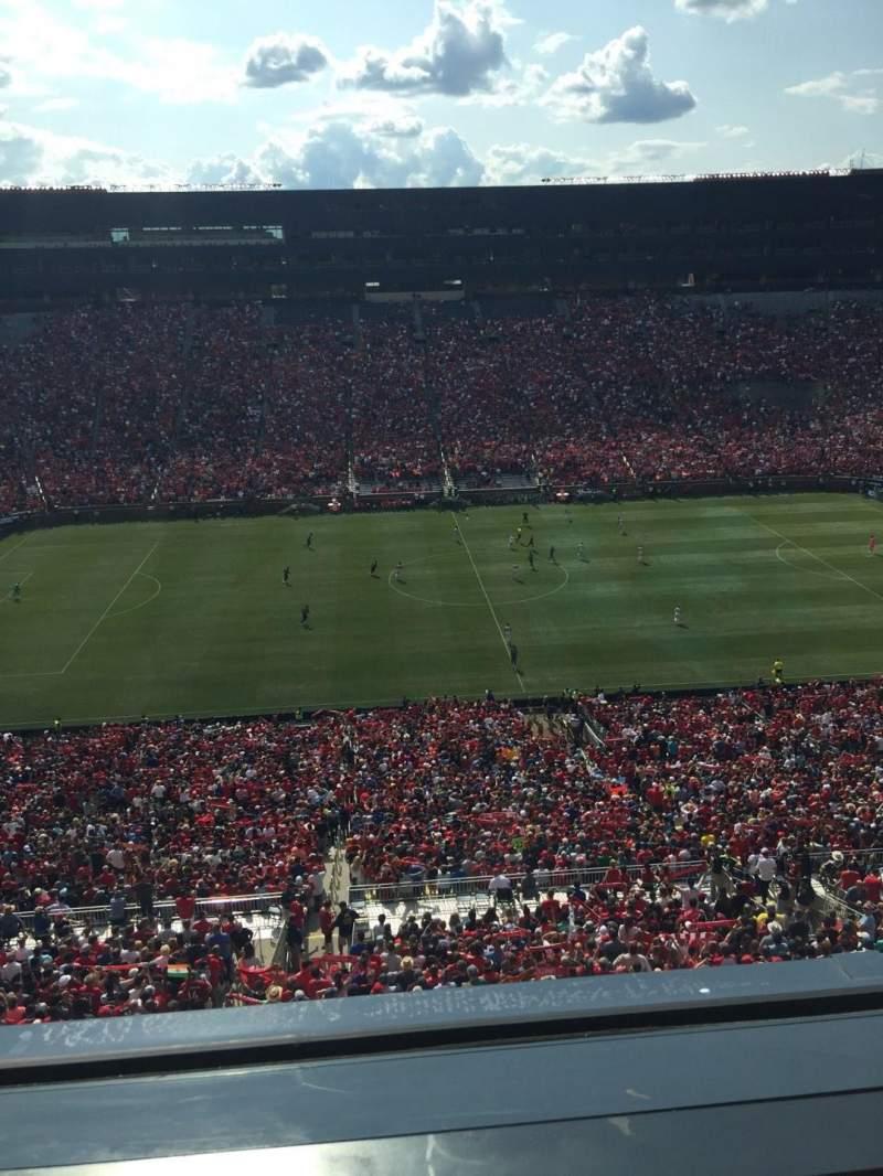 Michigan Stadium, section: 409, row: 1, seat: 8