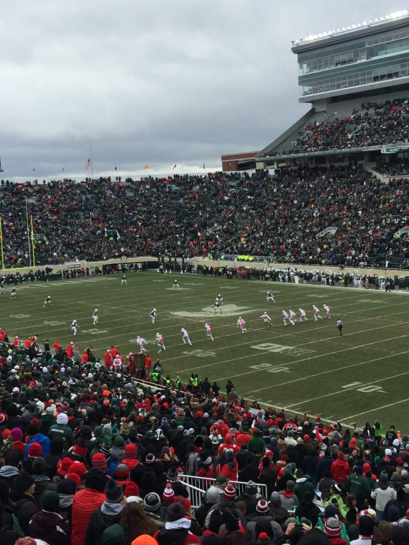 Seating view for Spartan Stadium Section 4 Row 46 Seat 55