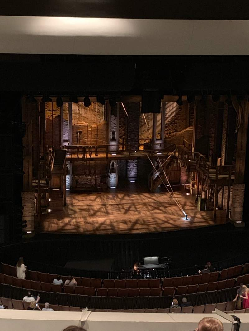 Seating view for Cobb Great Hall Section Tier Row I Seat 49