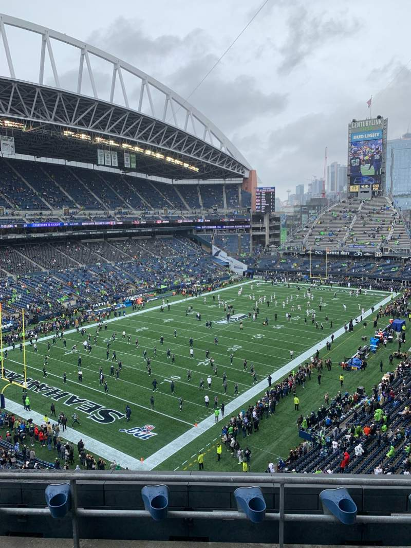 Seating view for CenturyLink Field Section 317 Row C Seat 4