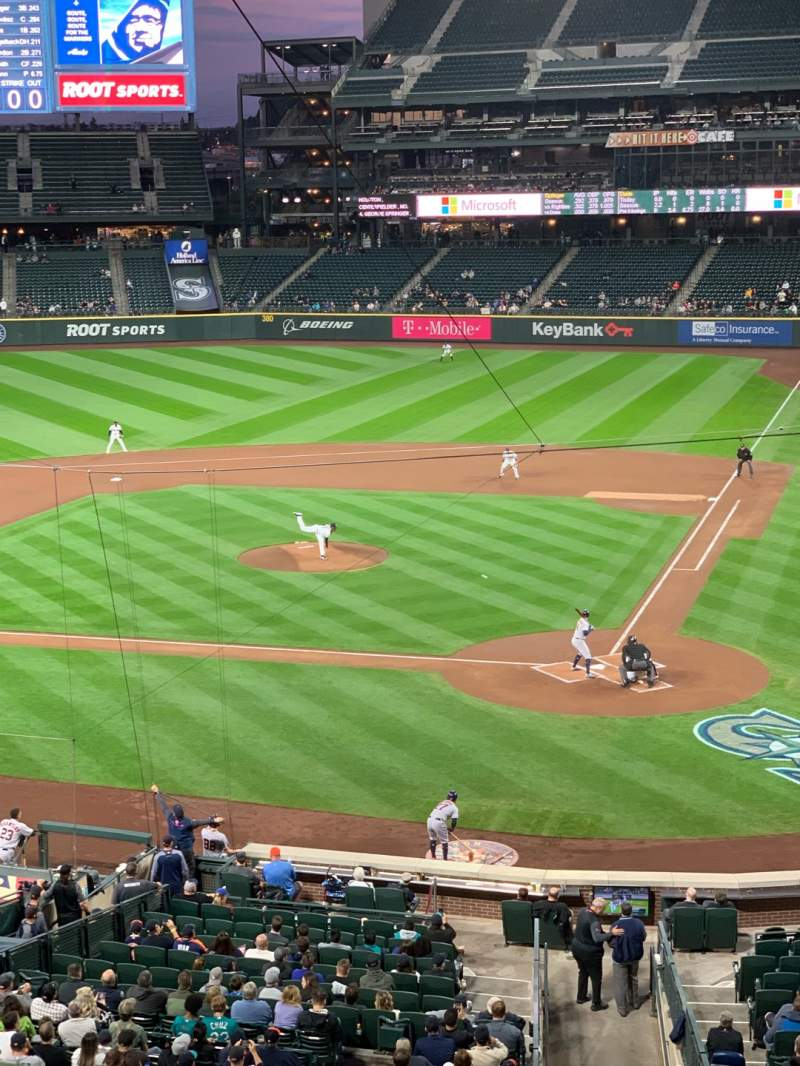 Seating view for T-Mobile Park Section 233 Row 4 Seat 4