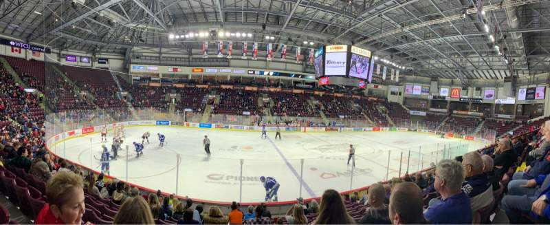 Seating view for WFCU Centre Section 105 Row I Seat 11