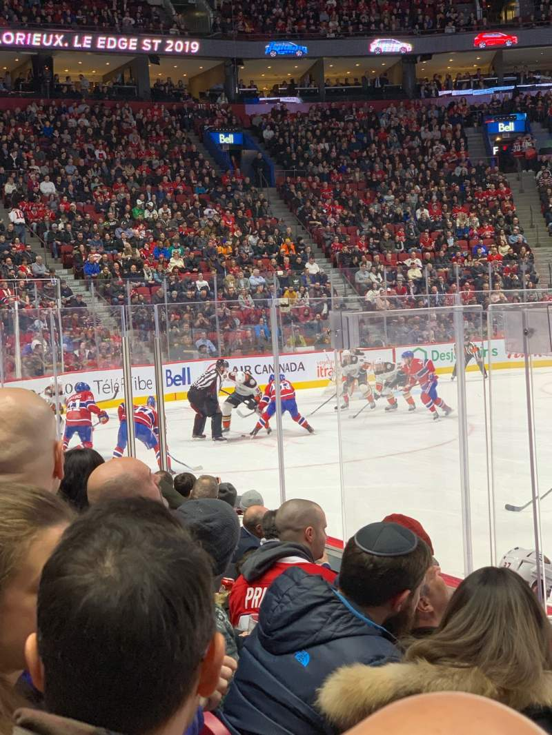 Seating view for Centre Bell Section 113 Row FF Seat 6