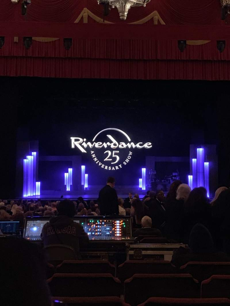 Seating view for Fox Theatre (Detroit) Section F3 Row CC Seat 312