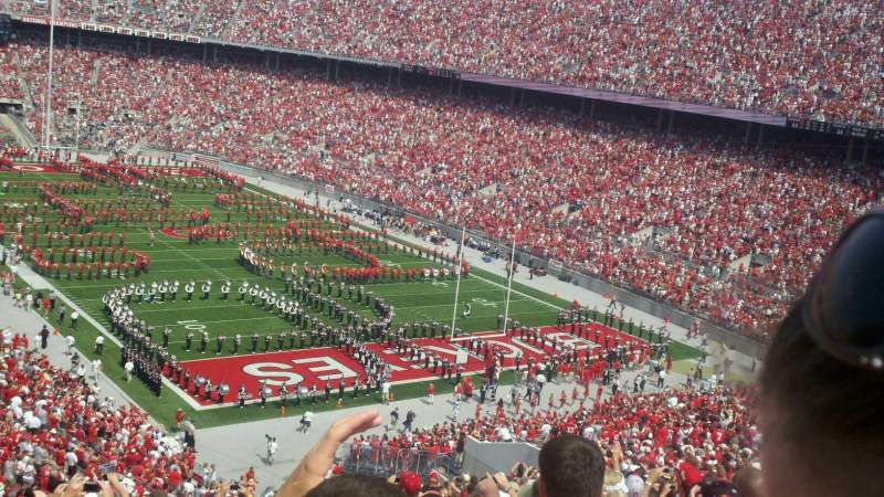 Seating view for Ohio Stadium Section 33B Row 20 Seat 23