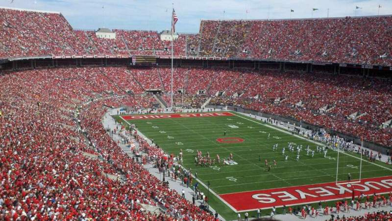 Seating View For Ohio Stadium Section 33B Row 36 Seat 33