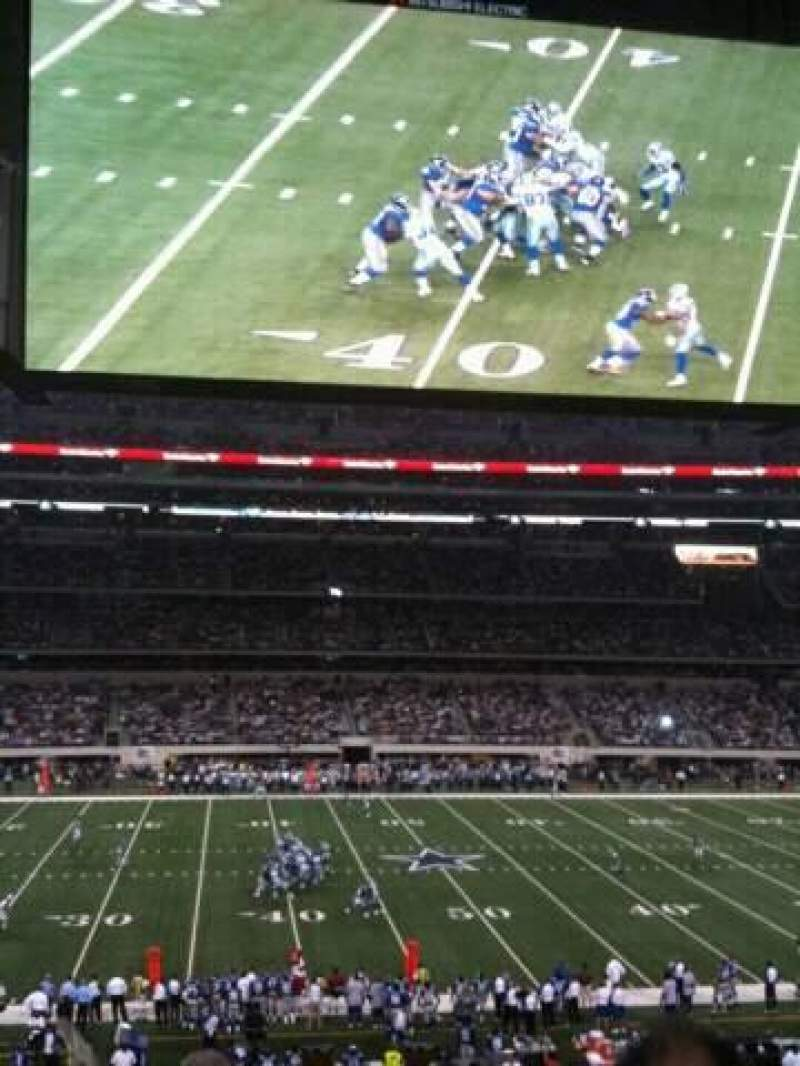 Seating view for AT&T Stadium Section C212