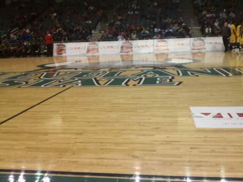 Seating view for Wolstein Center