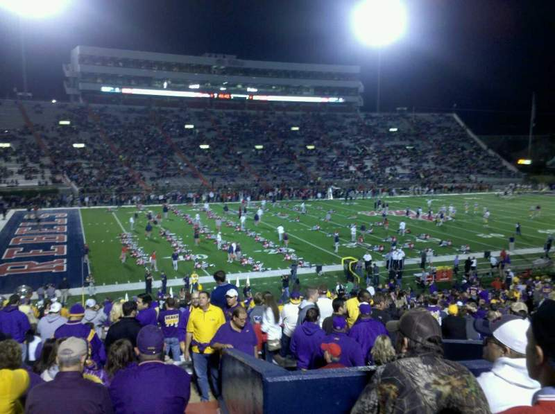 Seating view for Vaught-Hemingway Stadium Section r Row 37 Seat 22