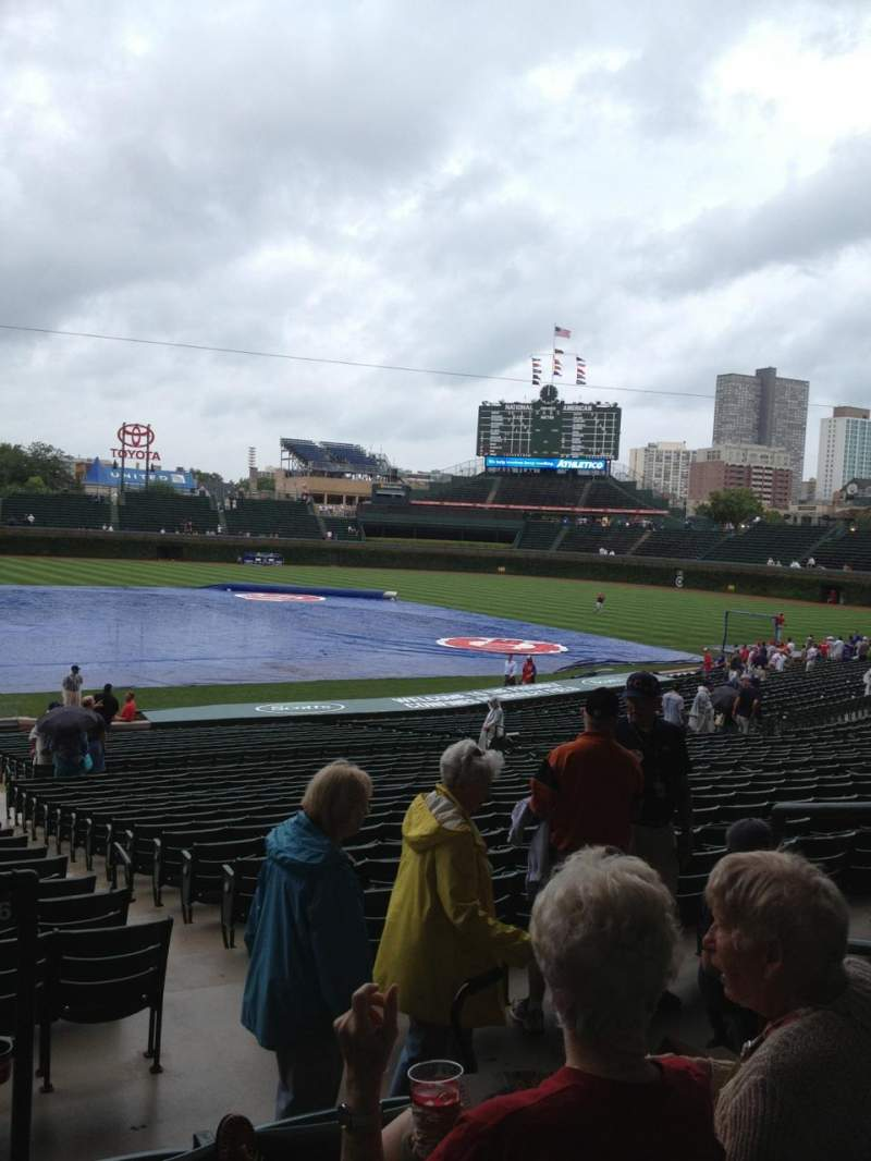 Seating view for Wrigley Field Section 226 Row 4 Seat 4