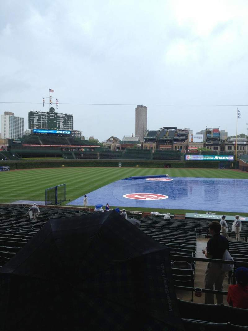 Seating view for Wrigley Field Section 213 Row 6 Seat 106
