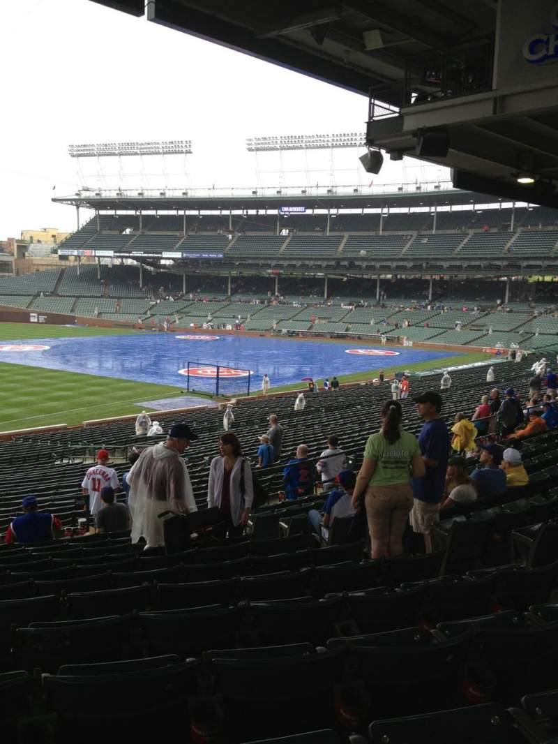 Seating view for Wrigley Field Section 205 Row 12 Seat 18