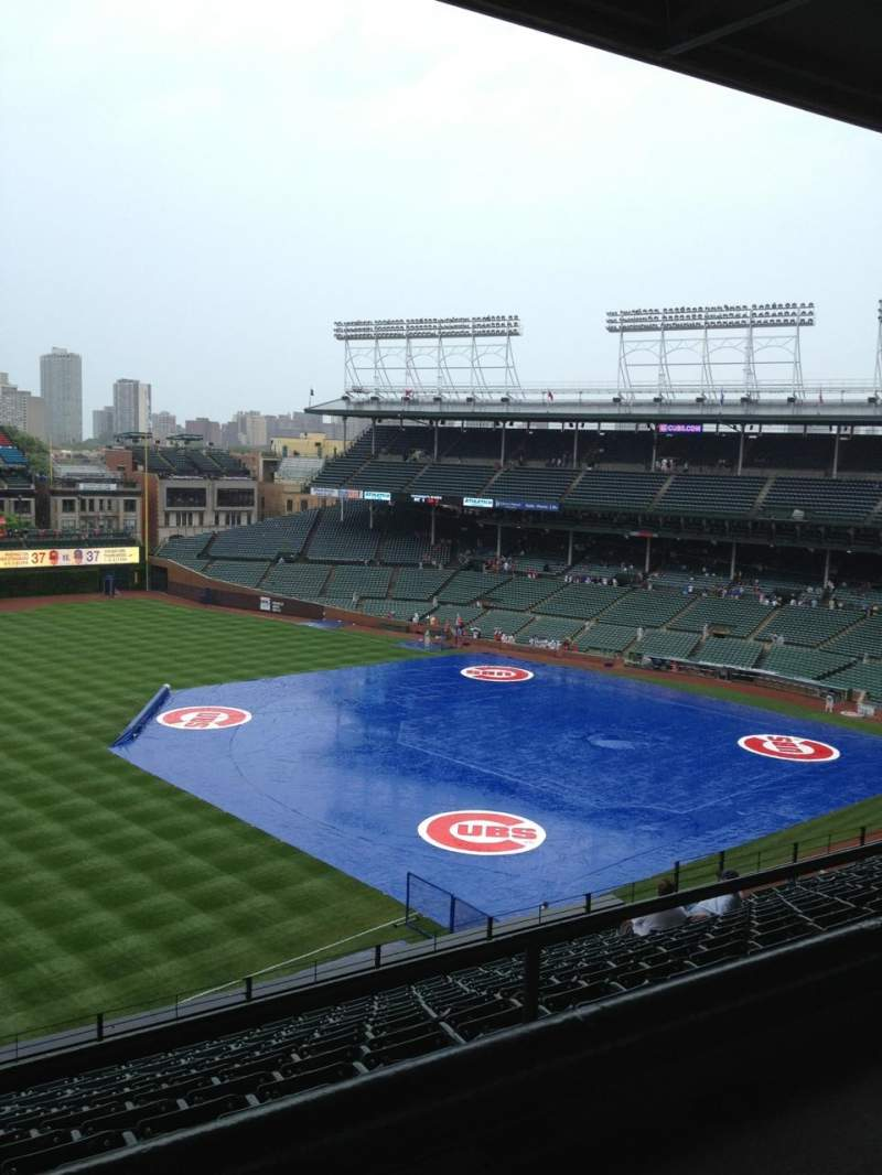 Wrigley Field, section: 505, row: 1, seat: 109