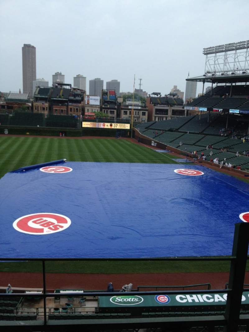 Seating view for Wrigley Field Section 309L Row 2 Seat 15