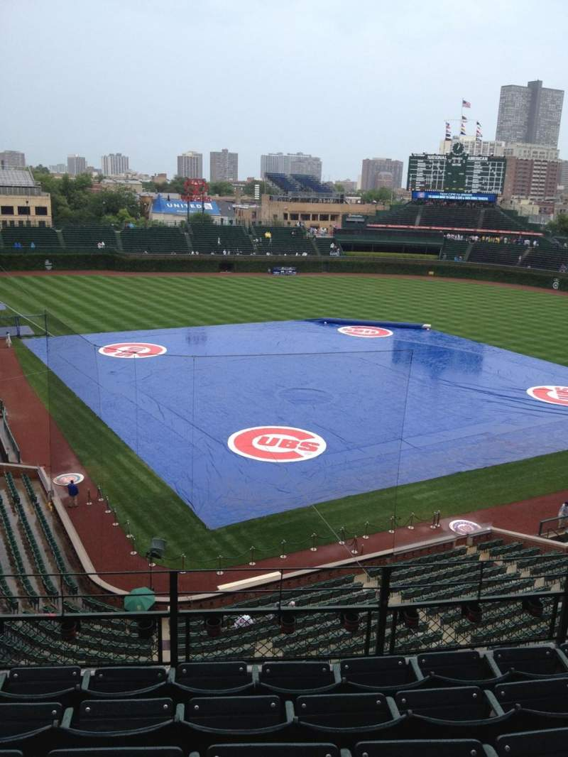 Seating view for Wrigley Field Section 320R Row 6 Seat 5