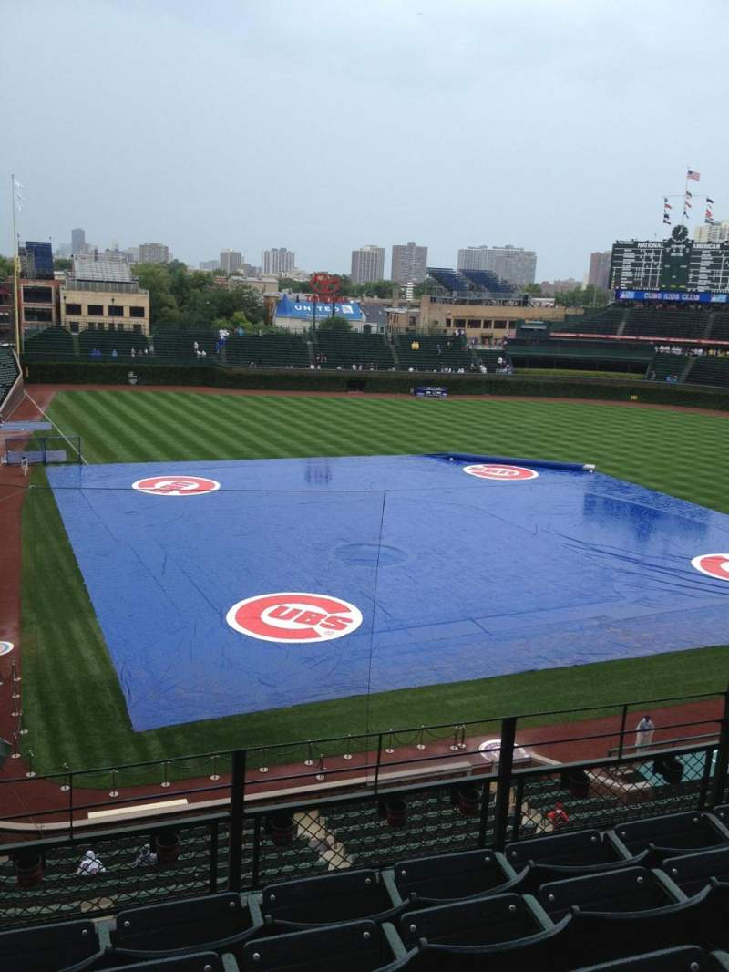 Seating view for Wrigley Field Section 423 Row 5 Seat 107