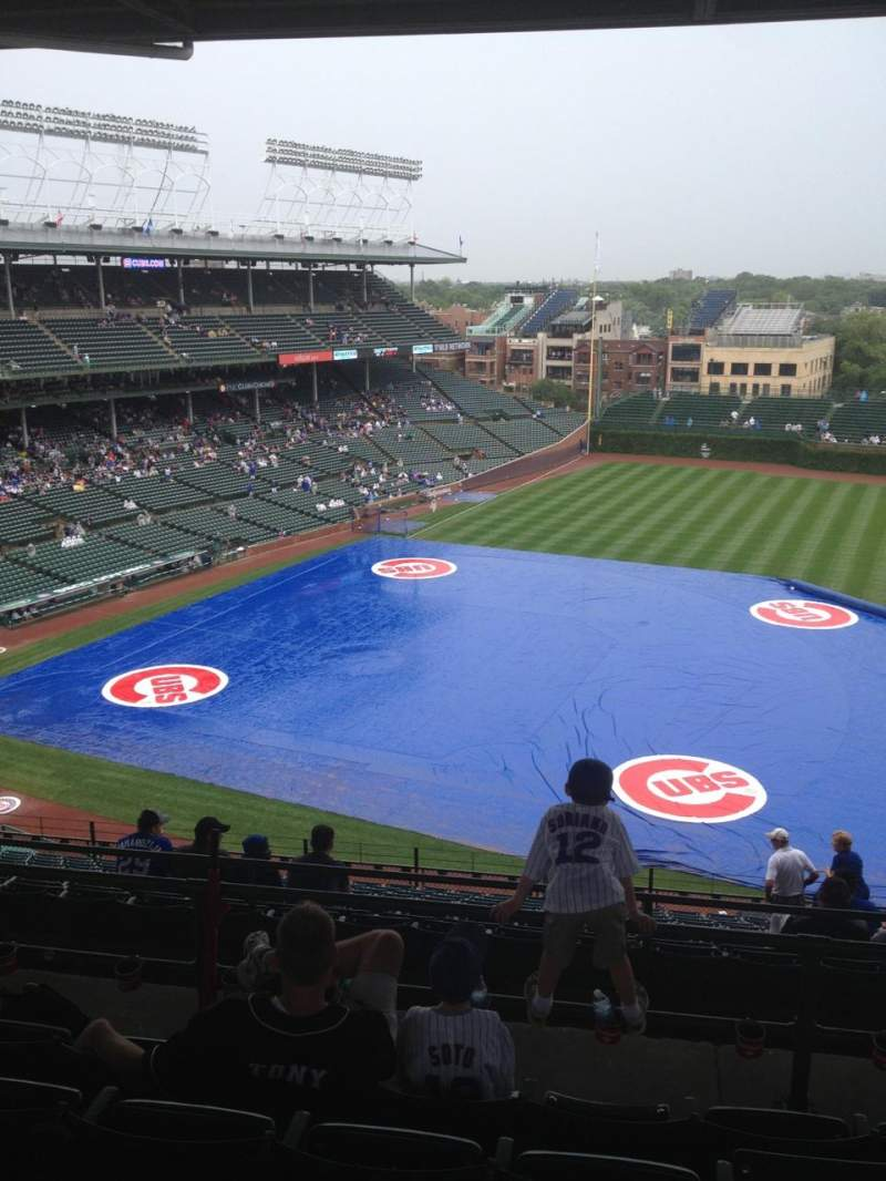 Seating view for Wrigley Field Section 530 Row 5 Seat 9