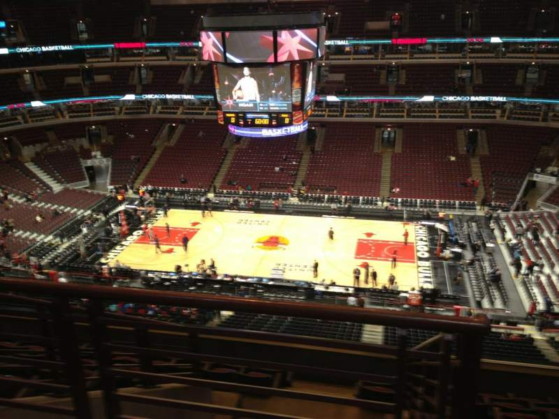 Seating view for United Center Section 333 Row 9 Seat 20