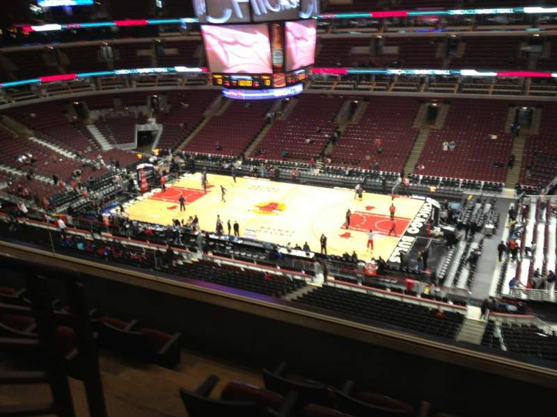 Seating view for United Center Section 332 Row 5 Seat 13