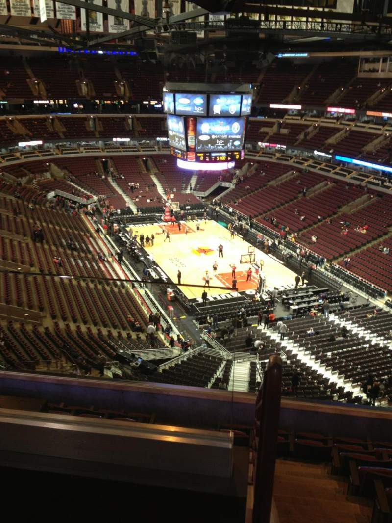 Seating view for United Center Section 328 Row 9 Seat 20