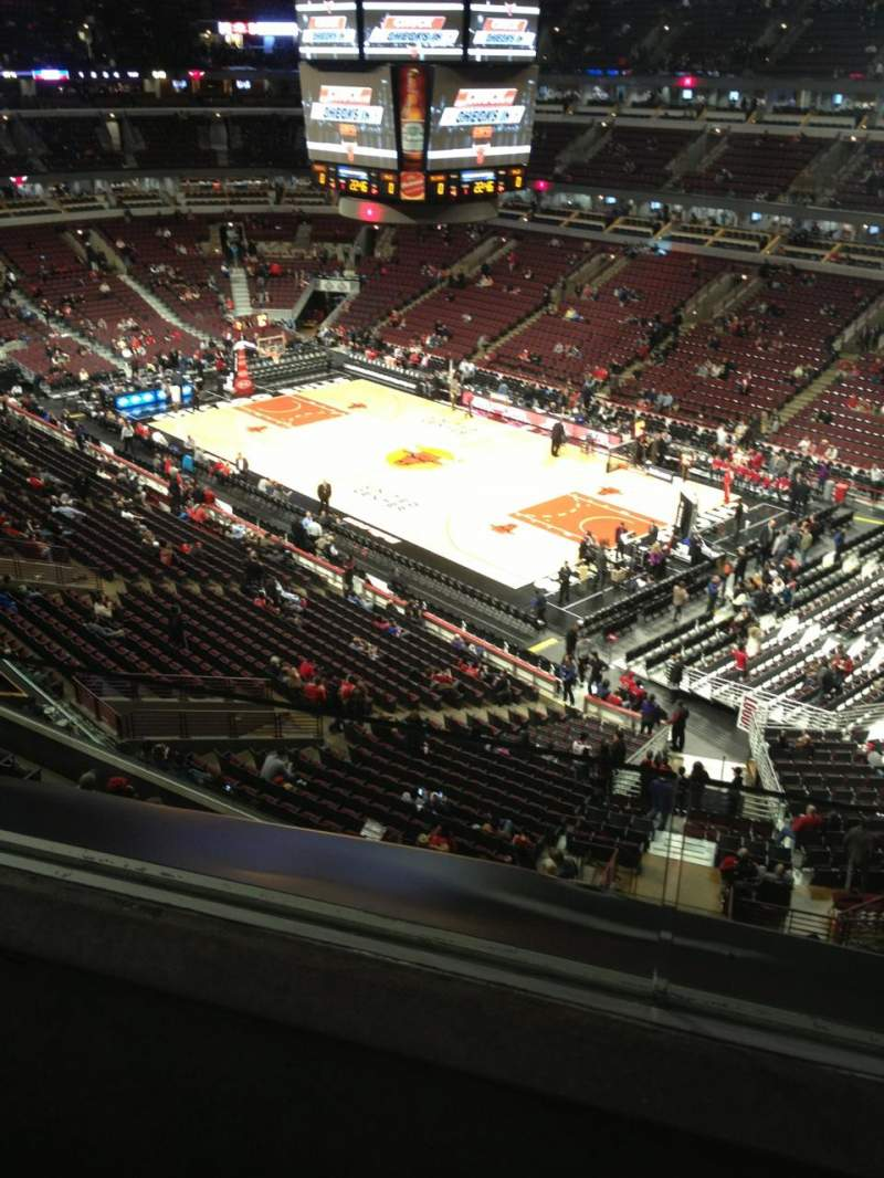 Seating view for United Center Section 314 Row 2 Seat 15