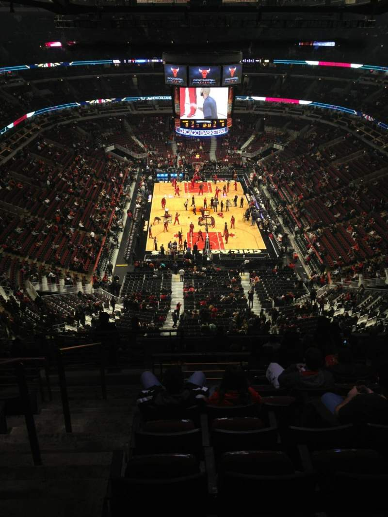 Seating view for United Center Section 309 Row 15 Seat 15