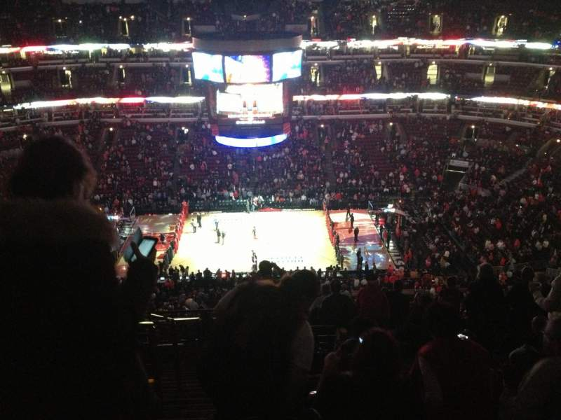 Seating view for United Center Section 334 Row 16 Seat 20