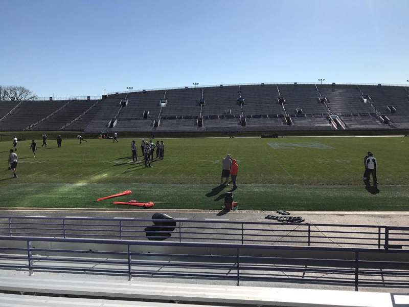 Seating view for Ryan Field Section 129 Row 9 Seat 5