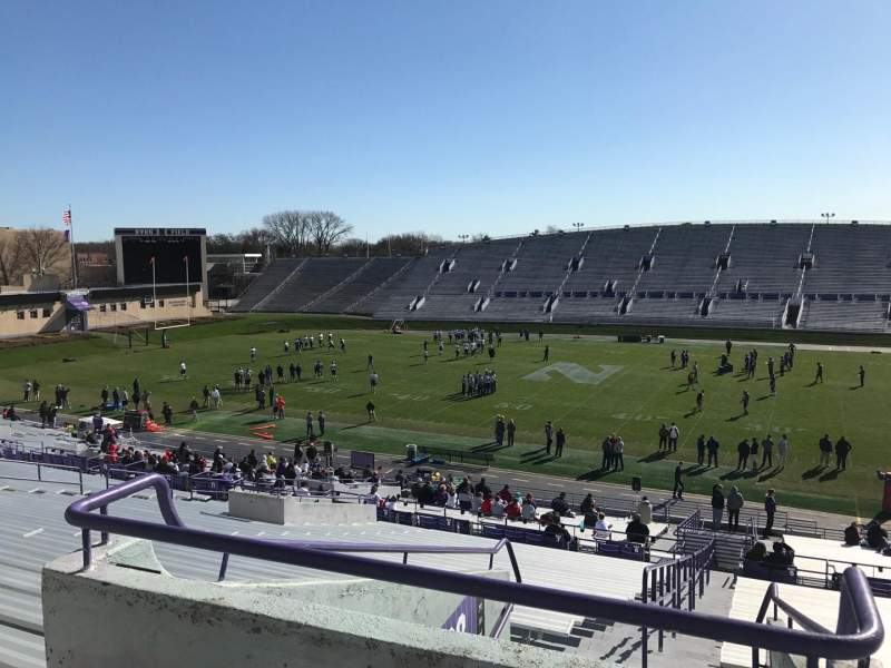 Seating view for Ryan Field Section 127 Row 48 Seat 27