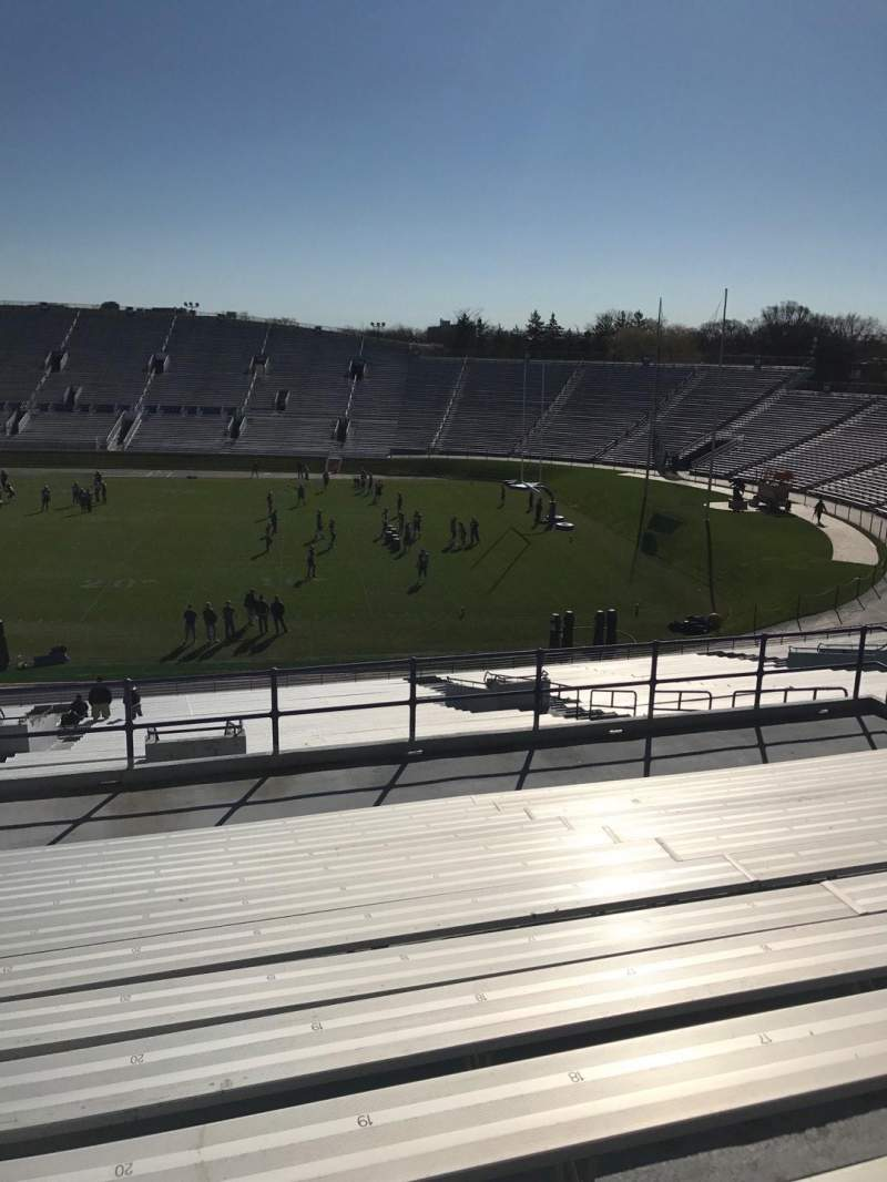 Seating view for Ryan Field Section 126 Row 51 Seat 20