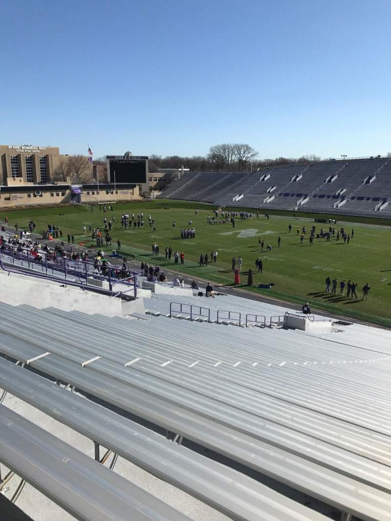 Seating view for Ryan Field Section 125 Row 53 Seat 7