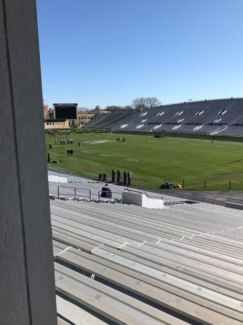 Seating view for Ryan Field Section 123 Row 37 Seat 8