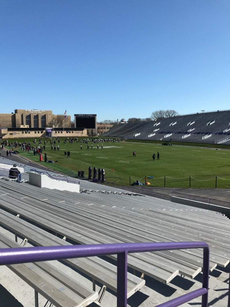 Seating view for Ryan Field Section 122 Row 28 Seat 10