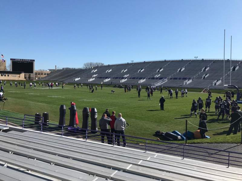 Seating view for Ryan Field Section 124 Row 10 Seat 10