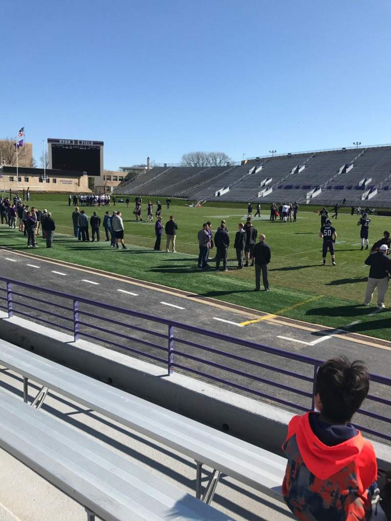 Seating view for Ryan Field Section 127 Row 4 Seat 4
