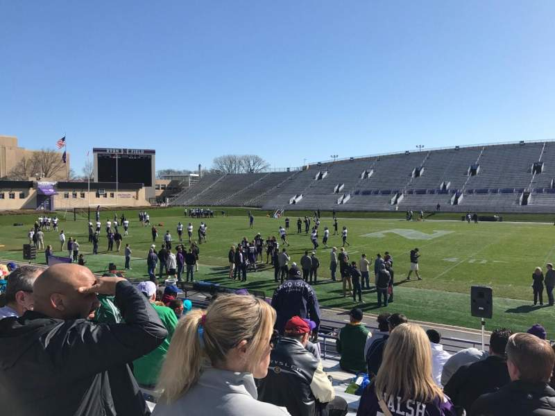 Seating view for Ryan Field Section 128 Row 15 Seat 6