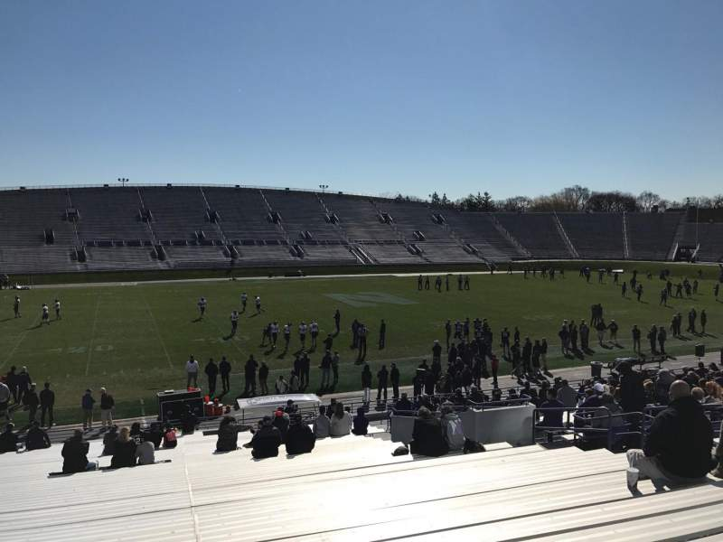 Seating view for Ryan Field Section 132 Row 33 Seat 15