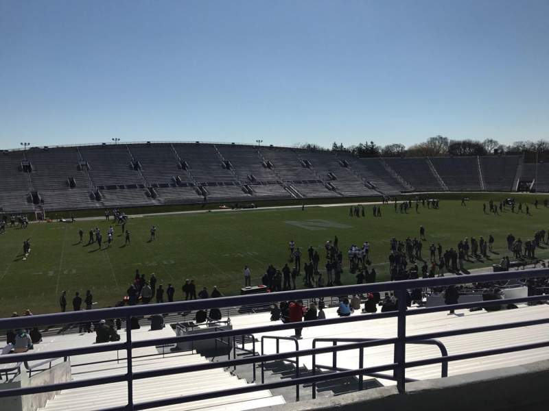 Seating view for Ryan Field Section 132 Row 39 Seat 5