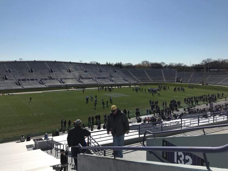 Seating view for Ryan Field Section 133 Row 46 Seat 5