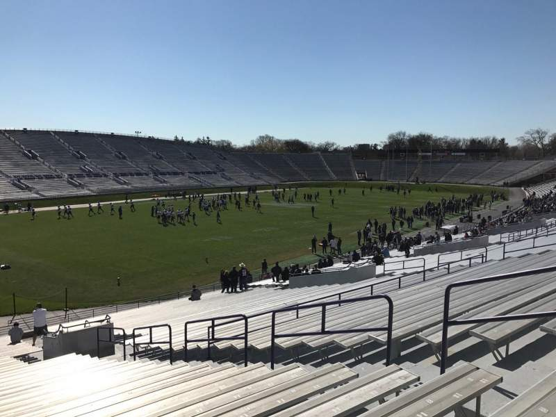 Seating view for Ryan Field Section 135 Row 38 Seat 8