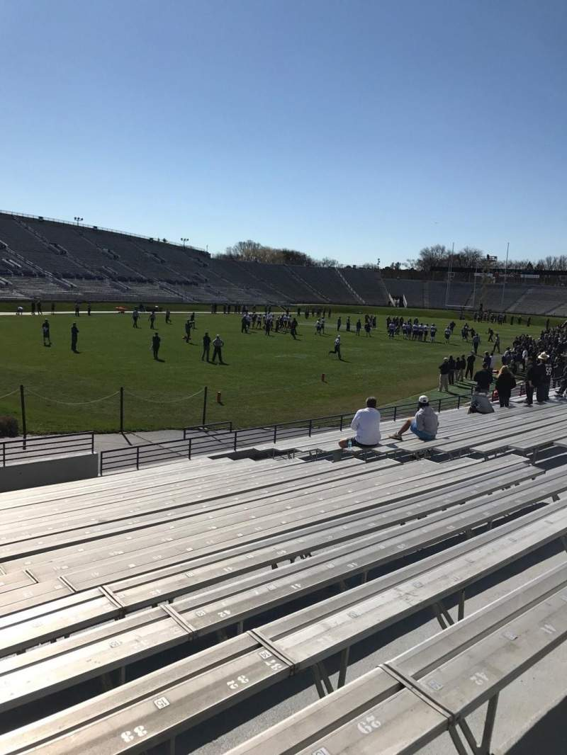 Seating view for Ryan Field Section 135 Row 17 Seat 17