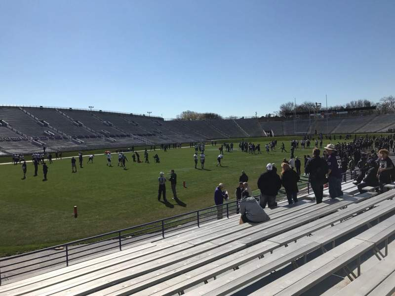 Seating view for Ryan Field Section 134 Row 11 Seat 22