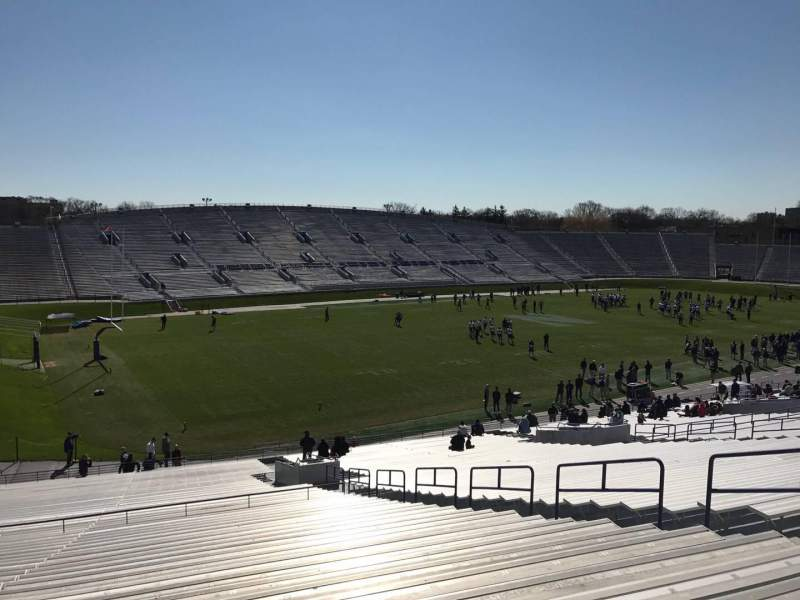 Seating view for Ryan Field Section 134 Row 50 Seat 10