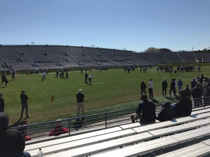 Seating view for Ryan Field Section 133 Row 8 Seat 20