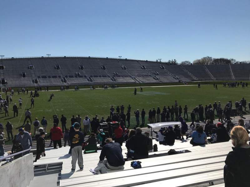 Seating view for Ryan Field Section 131 Row 21 Seat 25