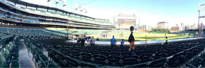 Seating view for Comerica Park Section 123 Row 15 Seat 9