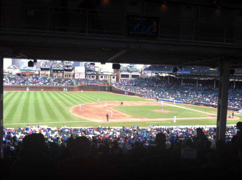 Seating view for Wrigley Field Section 209 Row 18 Seat 6