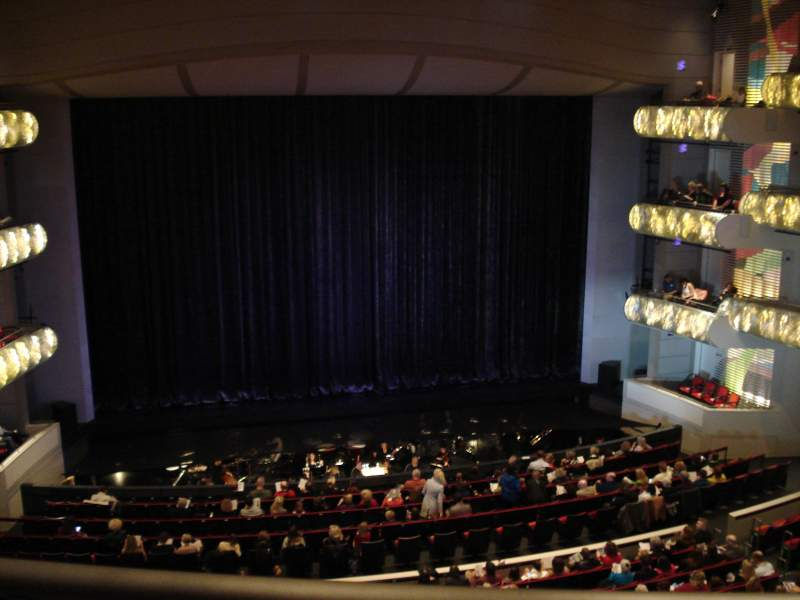 Seating view for Muriel Kauffman Theatre Section Grand Terrance Row BBB Seat 103