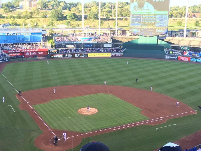 Seating view for Kauffman Stadium Section 423 Row M Seat 9