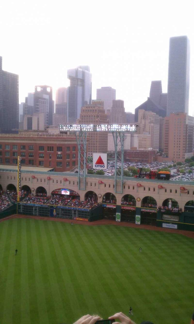 Seating view for Minute Maid Park Section 430 Row 2 Seat 9